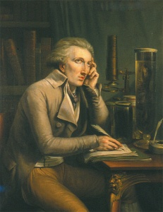 Portrait of Georges Cuvier by Mattheus Ignatius van Bree